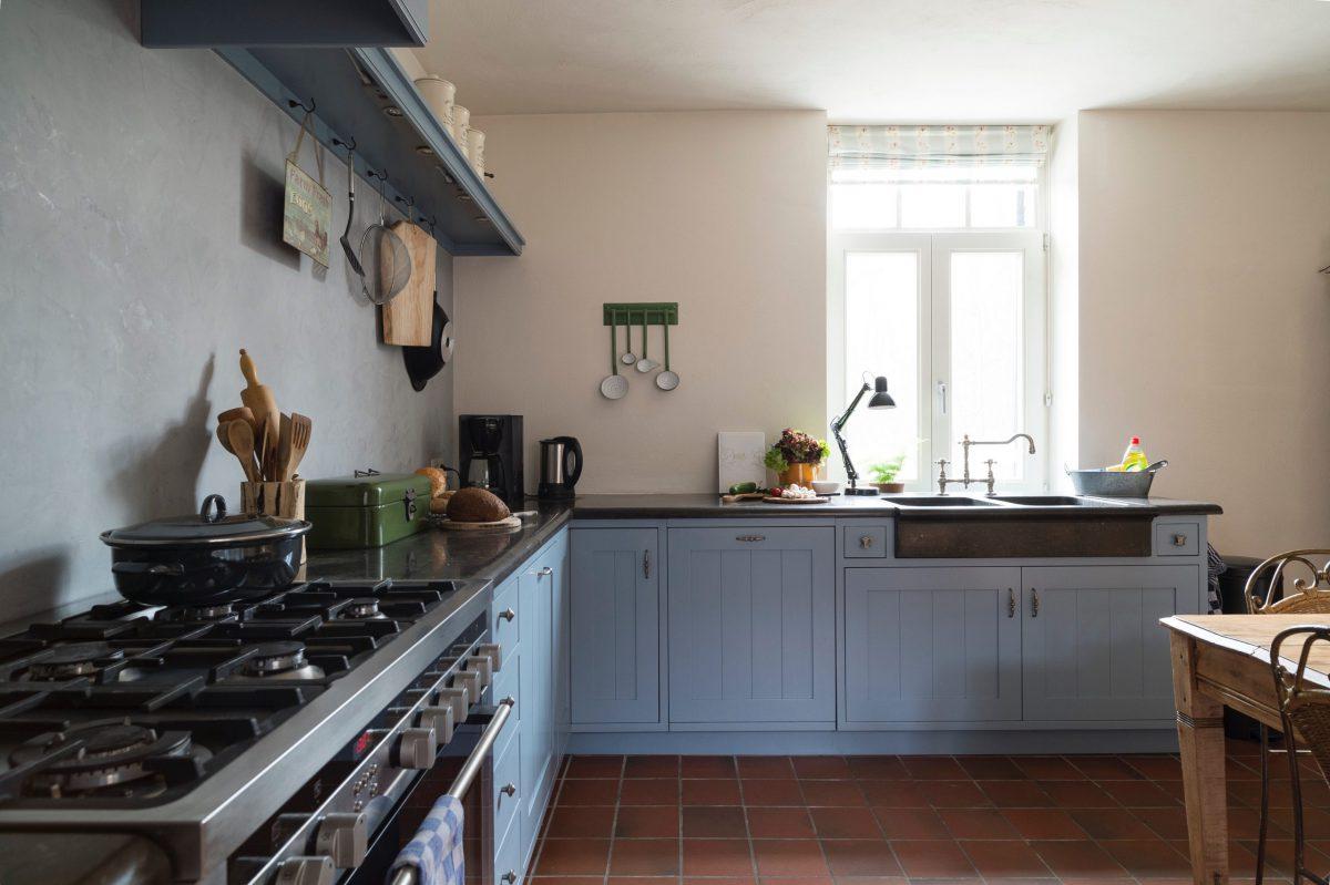 3 Ruime keuken L-opstelling Landelijk